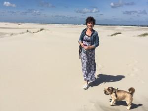 strandfoto liggend